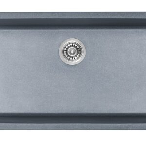 PL-550 Crystallite Series Slate Kitchen Sink