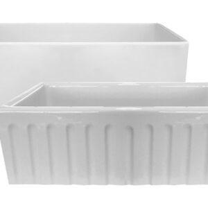 PL-FC3318 Fireclay Reversible Farmhouse Sink