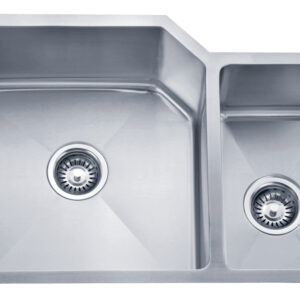 PL-HA009 Handmade Series 15 Degree Radius 16g Stainless Steel Kitchen Sink