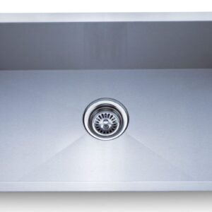 PL-HA109 Handmade Series Zero Radius 16g Stainless Steel Kitchen Sink
