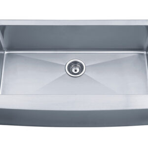 PL-HA122 Handmade Series 15 Degree Radius 16g Stainless Steel Kitchen Sink