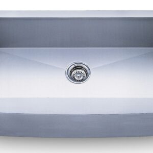 PL-HA124 Handmade Series Zero Radius 16g Stainless Steel Kitchen Sink