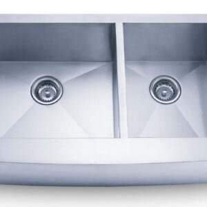PL-HA125 Handmade Series Zero Radius 16g Stainless Steel Kitchen Sink