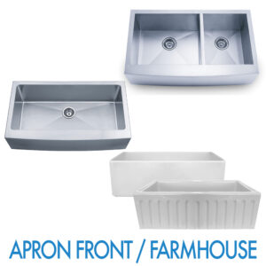 Performance Stoneworks APRON FARMHOUSE Sinks