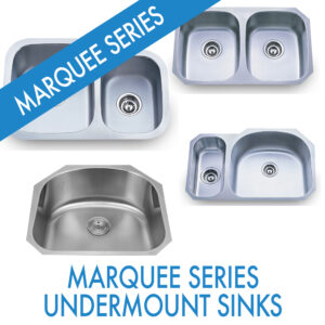 Performance Stoneworks KITCHEN Sinks-MARQUEE SERIES-STAINLESS-UNDERMOUNT