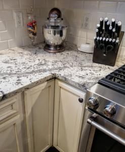 Romanix Granite Kitchen Countertop-corner view