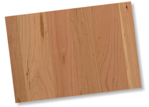 Sample of unfinished Cherry wood.