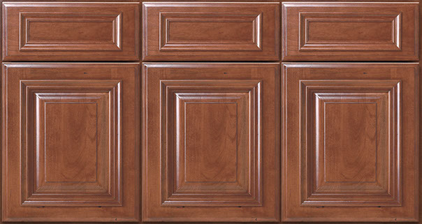 Full Overlay features a smaller reveal around doors and drawer fronts.