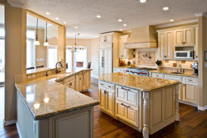 Advantage Cabinetry - Maple with Biscuit Finish and Chocolate Glaze additional view