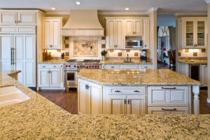Advantage Cabinetry - Maple with Biscuit Finish and Chocolate Glaze