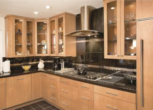 Advantage Cabinetry - Scandia Door Profile. Maple with Natural Finish.