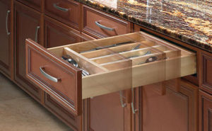 Soft-Close Drawers provide smooth and quiet performance.