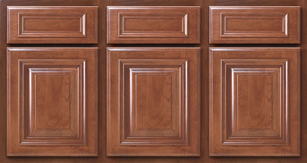 Standard Overlay features a larger reveal around doors and drawer fronts.