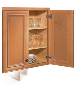 Soft-Close Hinges close slowly and softly, eliminating noise and damage.