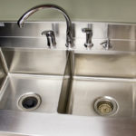 John Boos Stainless Steel Countertop with Integrated Sink STAINLESSCOUNTERTOP_0007