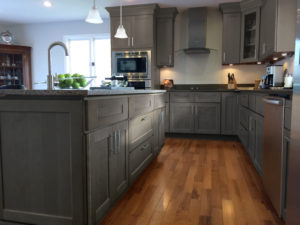 RiverRun Cabinets Dalton Gray - Kitchen (1)