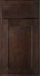 Dalton Door Style in Cocoa Finish