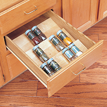 Trimmable Spice Organizer Insert